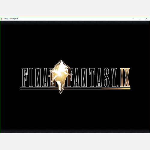 【購入】FINAL FANTASY IX for PC